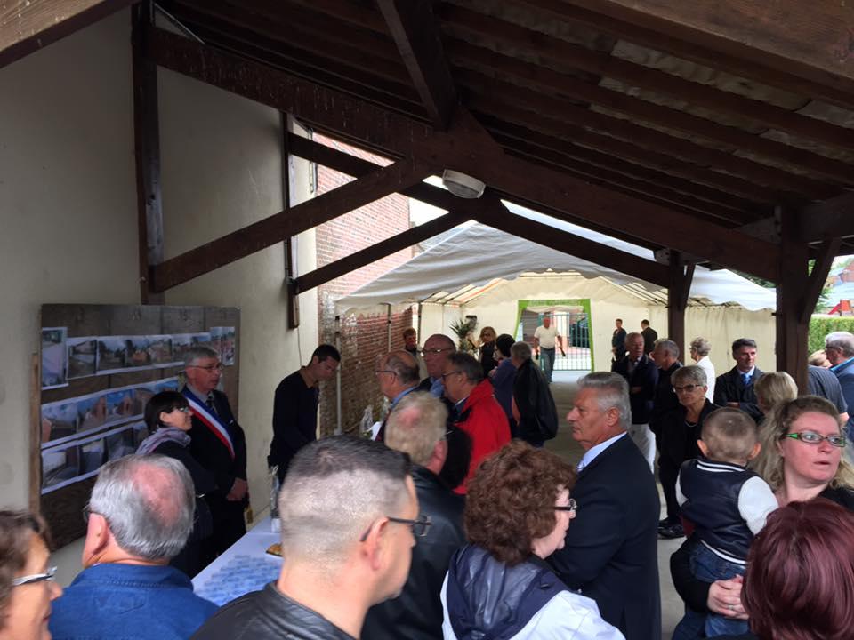 A l'inauguration de la Mairie de Plessier-sur-Bulles 2