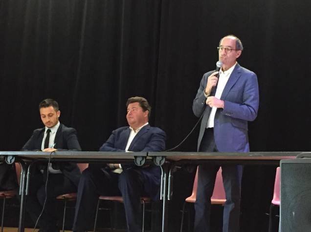 Au comité départemental des Républicains de l'Oise à Catenoy