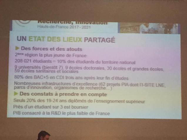Réunion de travail au Conseil Régional Hauts-de-France avant la séance plénière 1