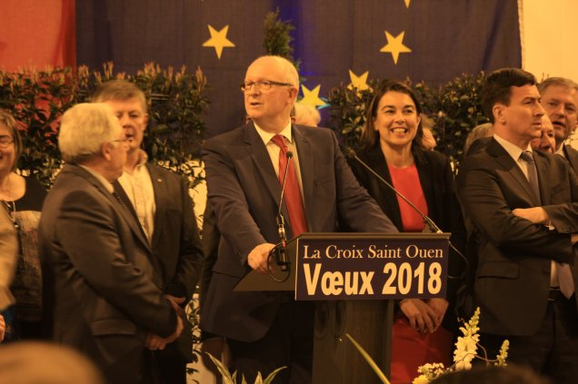 Cérémonie des voeux de la commune de La Croix Saint Ouen