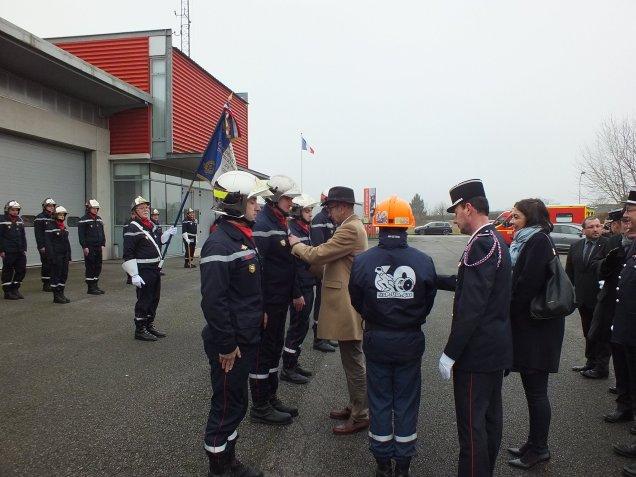 Cérémonie des voeux et remise de médailles au centre de secours de Maignelay-Montigny2