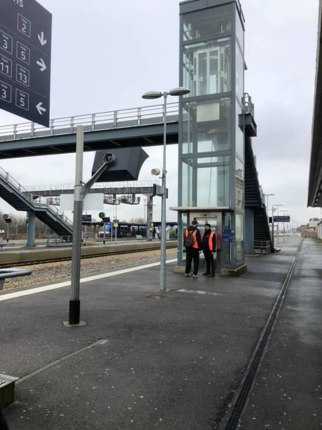 La région au travail sur l'avenir des abords de la gare de Laon 2