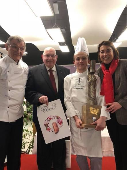La région félicite les jeunes apprentis dans le cadre de la 28e édition du Trophée des jeunes cuisiniers des Hauts-de-France