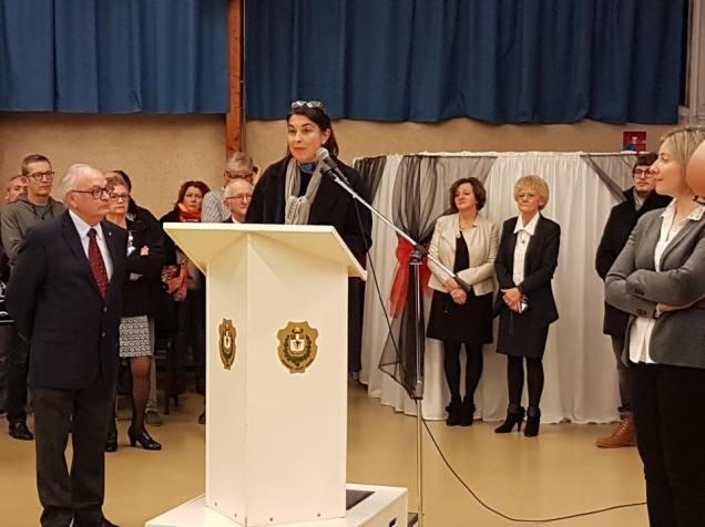 Ma participation à la cérémonie des voeux de la commune d'Estrées-Saint-Denis