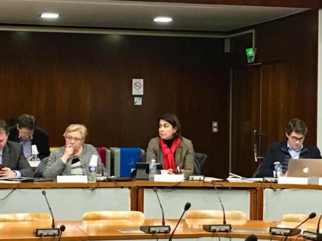 Réunion de la Commission permanente à la région Hauts-de-France à Amiens