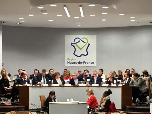 Réunion de la Commission permanente à la région Hauts-de-France à Amiens2