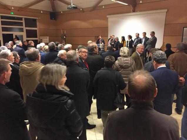 Réunion des élus régionaux de l'Oise pour la nouvelle année2