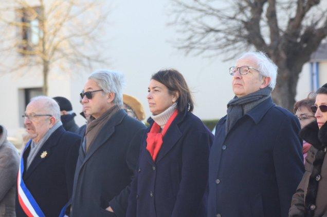 Commémoration au Mémorial de l'Internement et de la Déportation de Compiègne