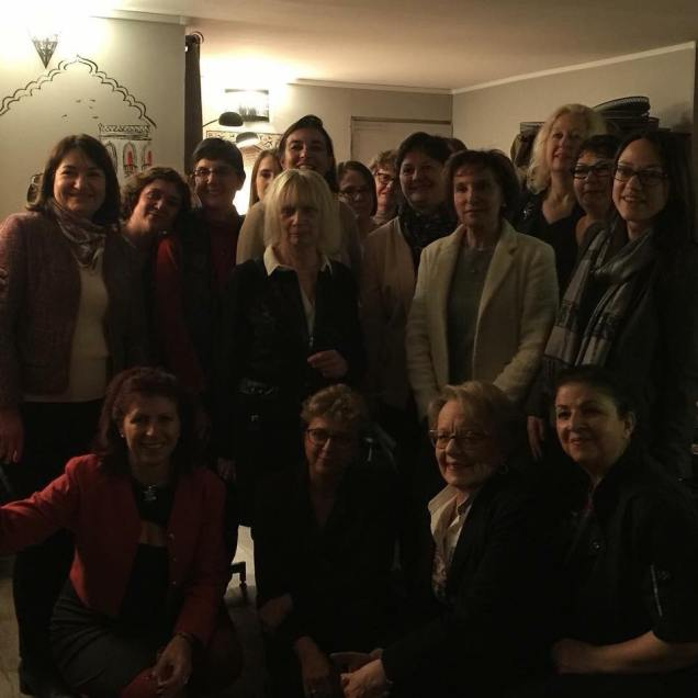 Rencontre avec des femmes chefs d'entreprises, élues et présidentes d'associations à Compiègne pour la Journée internationale des droits des femmes