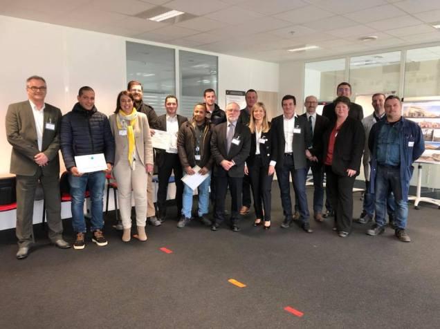 A la rencontre de l'équipe de Zodiac Aero Duct Systems pour la Semaine de l'industrie en Hauts-de-France