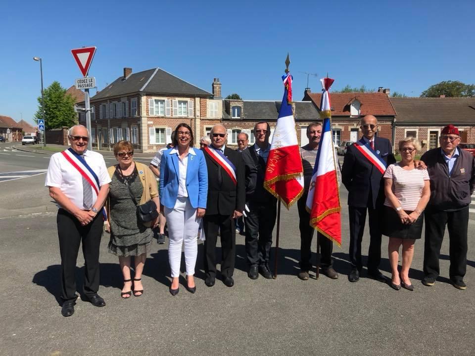 Cérémonie de commémoration du 8 mai à Tricot